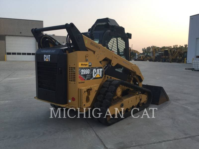 CATERPILLAR CARGADORES MULTITERRENO 299D2XHP A equipment  photo 3