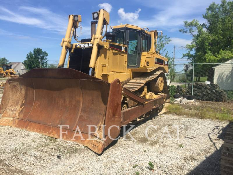 CATERPILLAR TRACTORES DE CADENAS D8RII equipment  photo 3