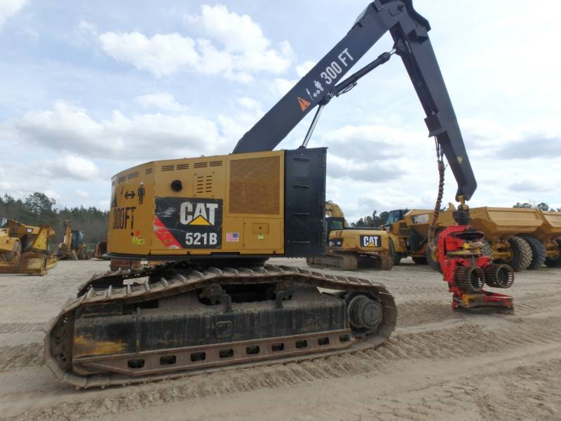 CATERPILLAR FORESTAL - TALADORES APILADORES - DE CADENAS 521B equipment  photo 4