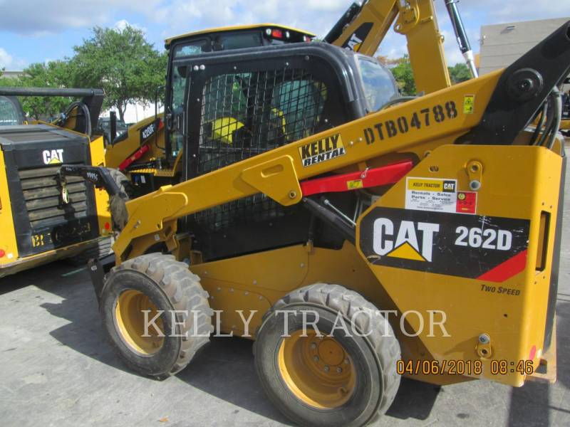 CATERPILLAR SCHRANKLADERS 262D equipment  photo 4