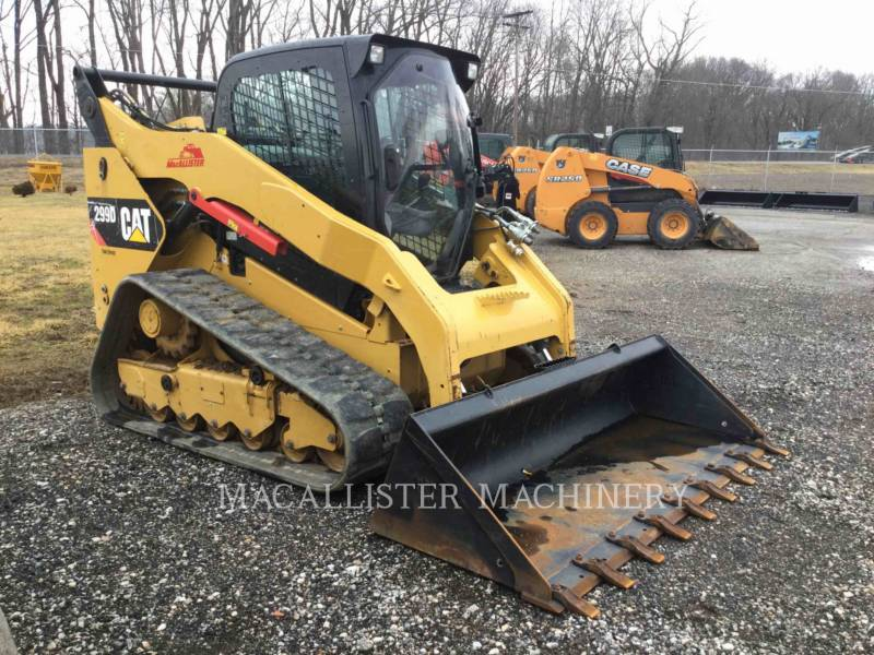 CATERPILLAR CARGADORES MULTITERRENO 299D equipment  photo 1