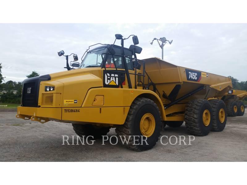 CATERPILLAR ARTICULATED TRUCKS 745CTG equipment  photo 1