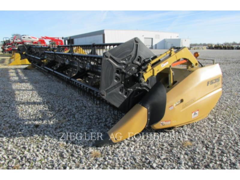 LEXION COMBINE HEADERS F535 equipment  photo 1