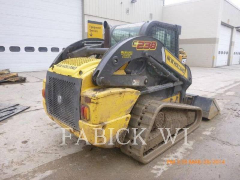 NEW HOLLAND LTD. TRACK LOADERS C238 equipment  photo 3