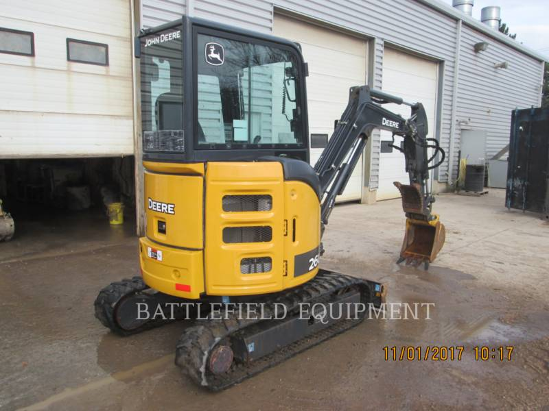 JOHN DEERE TRACK EXCAVATORS 26G equipment  photo 4