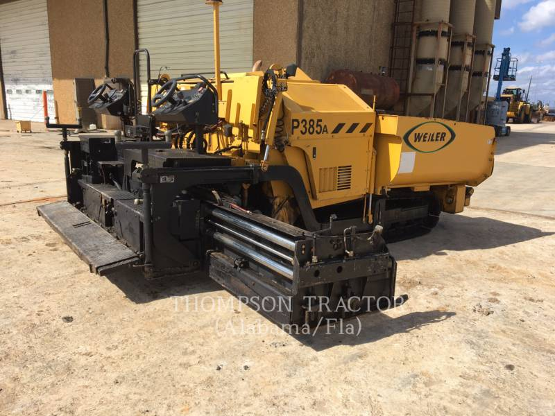 WEILER PAVIMENTADORA DE ASFALTO P 385 A equipment  photo 10