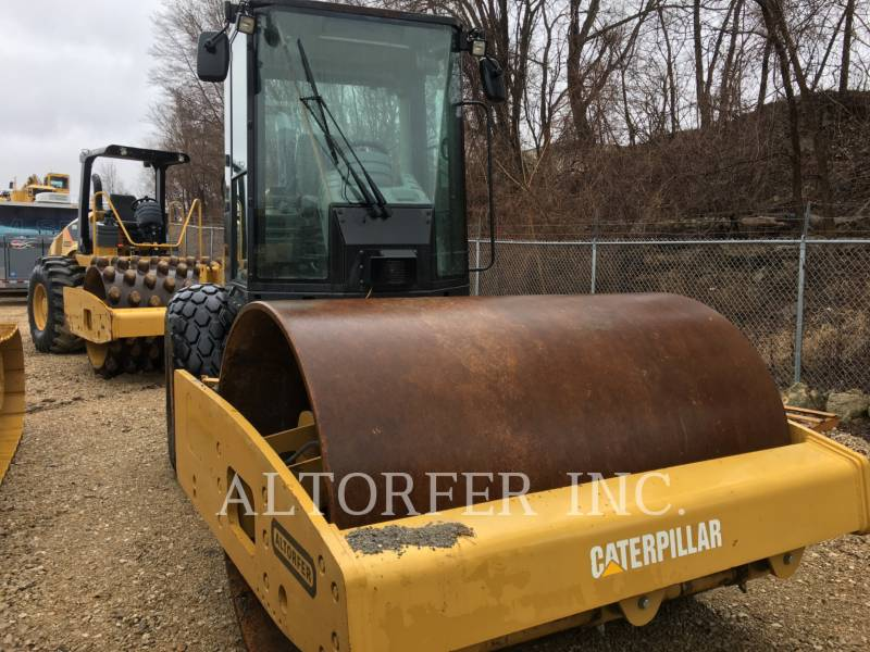 CATERPILLAR EINZELVIBRATIONSWALZE, GLATTBANDAGE CS56 equipment  photo 3