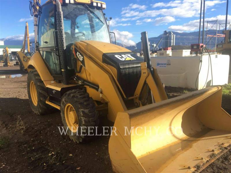 CATERPILLAR GRAAF-LAADCOMBINATIES 420F E equipment  photo 1