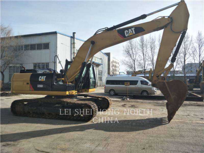 CATERPILLAR KETTEN-HYDRAULIKBAGGER 326D2L equipment  photo 3