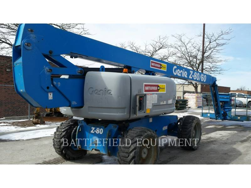 GENIE INDUSTRIES LIFT - BOOM Z80/60J RT equipment  photo 1