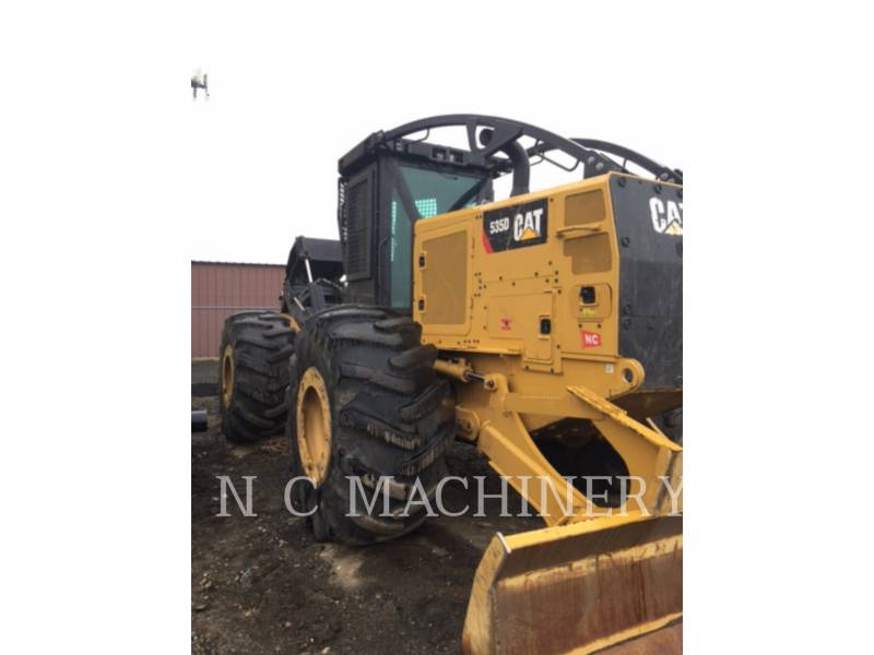 CATERPILLAR MACHINE FORESTIERE 535D equipment  photo 2
