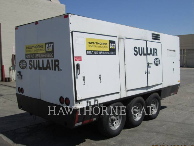 SULLAIR COMPRESOR DE AIRE 1600HAF DTQ-CA3 equipment  photo 2