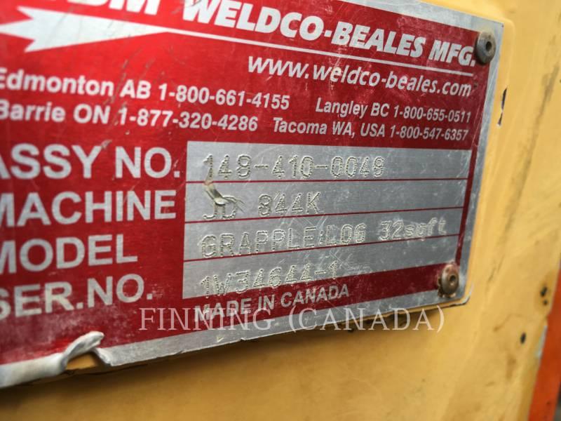 JOHN DEERE WHEEL LOADERS/INTEGRATED TOOLCARRIERS 844K equipment  photo 9