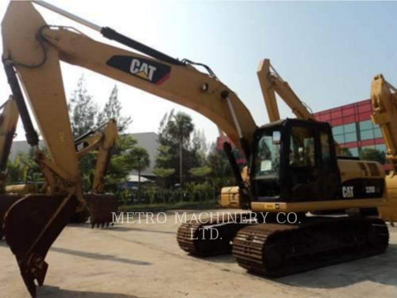 CATERPILLAR KETTEN-HYDRAULIKBAGGER 320DGC equipment  photo 4
