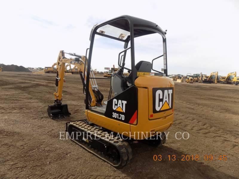 CATERPILLAR TRACK EXCAVATORS 301.7D OR equipment  photo 1
