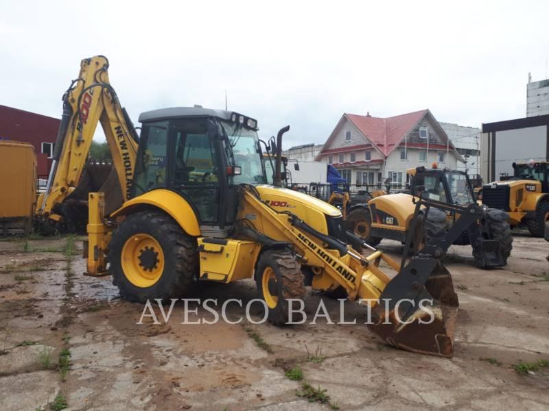 NEW HOLLAND LTD. BACKHOE LOADERS B100C equipment  photo 4