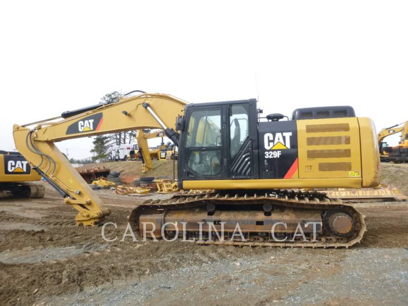 CATERPILLAR KETTEN-HYDRAULIKBAGGER 329FL QC equipment  photo 5