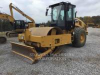 Equipment photo CATERPILLAR CS56B COMPACTEUR VIBRANT, MONOCYLINDRE LISSE 1