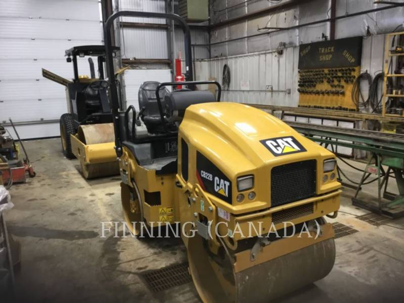 CATERPILLAR COMPACTORS CB22B equipment  photo 2