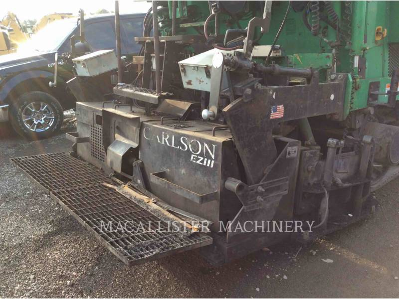 BARBER GREENE ASPHALT PAVERS AP655-C equipment  photo 6