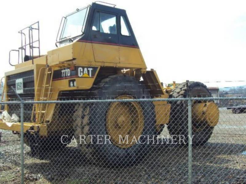 CATERPILLAR DUMPER A TELAIO RIGIDO DA MINIERA 777D equipment  photo 3