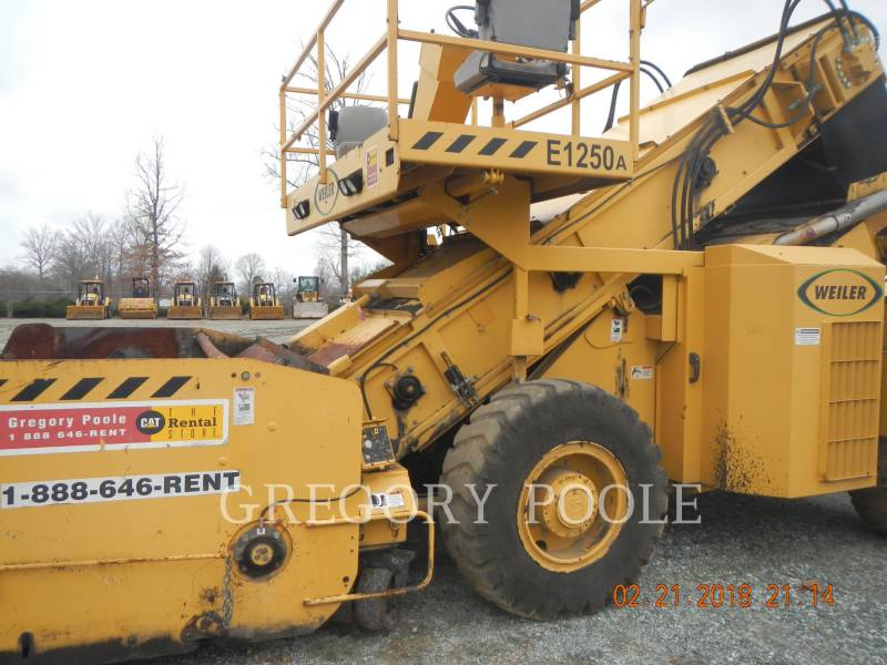 WEILER VARIE/ALTRE APPARECCHIATURE E1250 equipment  photo 8