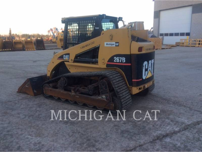CATERPILLAR CHARGEURS TOUT TERRAIN 267B AQ equipment  photo 4