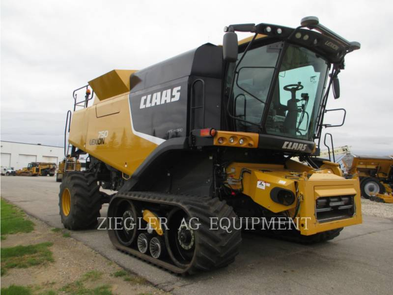 LEXION COMBINE COMBINES 750TTHS equipment  photo 6