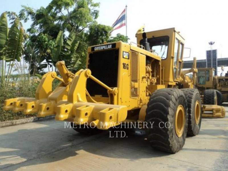CATERPILLAR MOTOR GRADERS 16G equipment  photo 5