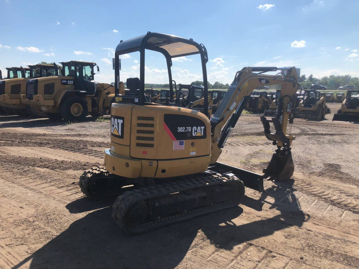 Used 2016 Caterpillar 302 7dcr For Sale In Nj Pa De And
