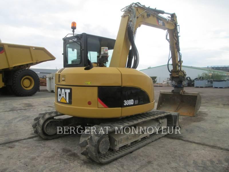 CATERPILLAR TRACK EXCAVATORS 308D equipment  photo 4