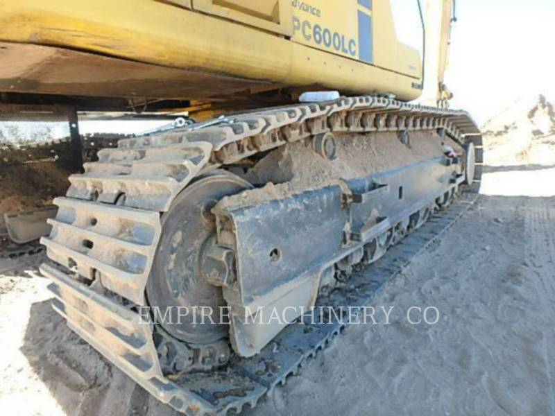KOMATSU LTD. TRACK EXCAVATORS PC600LC equipment  photo 9