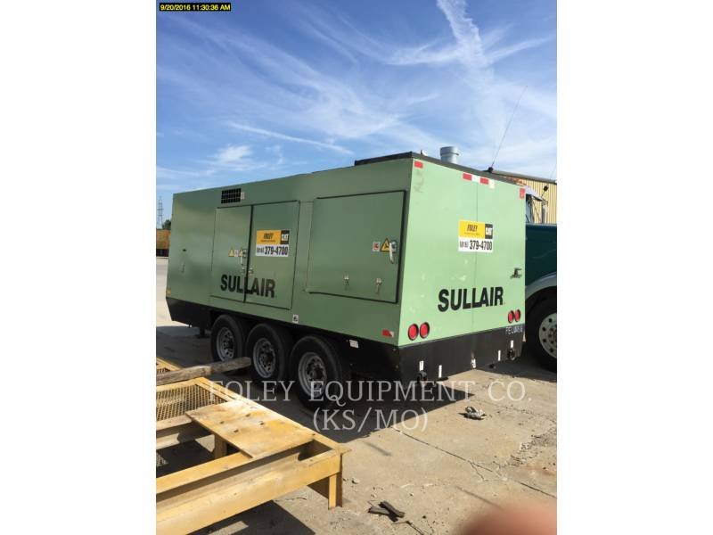 SULLAIR AIR COMPRESSOR 1150XHA900 equipment  photo 1