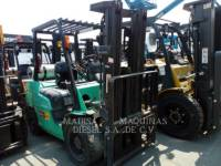 Equipment photo MITSUBISHI CATERPILLAR FORKLIFT FG30NMGL PODNOŚNIKI WIDŁOWE 1