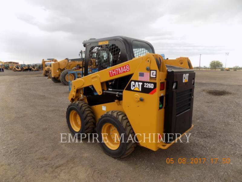 CATERPILLAR SKID STEER LOADERS 226D equipment  photo 4