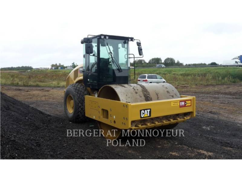 CATERPILLAR EINZELVIBRATIONSWALZE, GLATTBANDAGE CS 64 B equipment  photo 7
