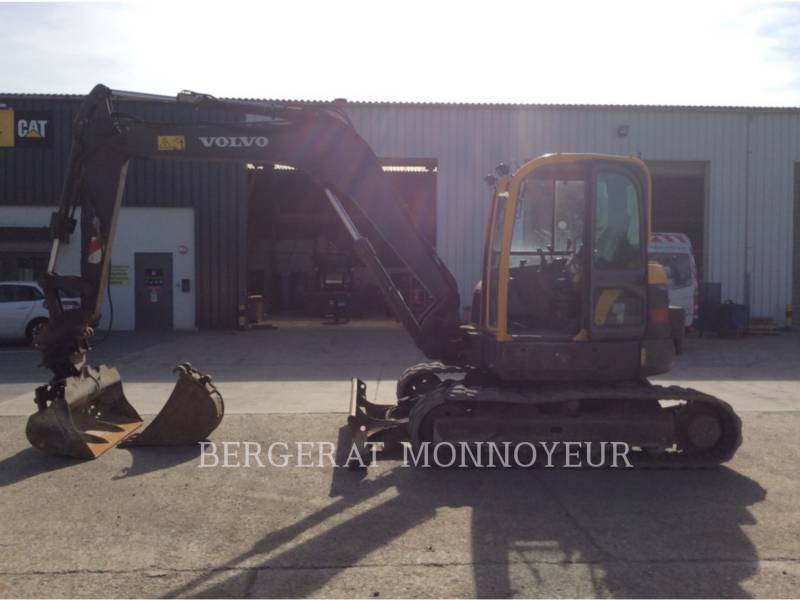 VOLVO CONSTRUCTION EQUIPMENT TRACK EXCAVATORS ECR88 equipment  photo 4