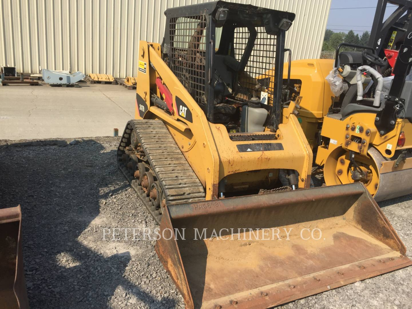 Detail photo of 2007 Caterpillar 247B II from Construction Equipment Guide