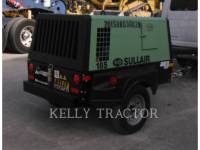 SULLAIR COMPRESSOR DE AR 185DPQ equipment  photo 2