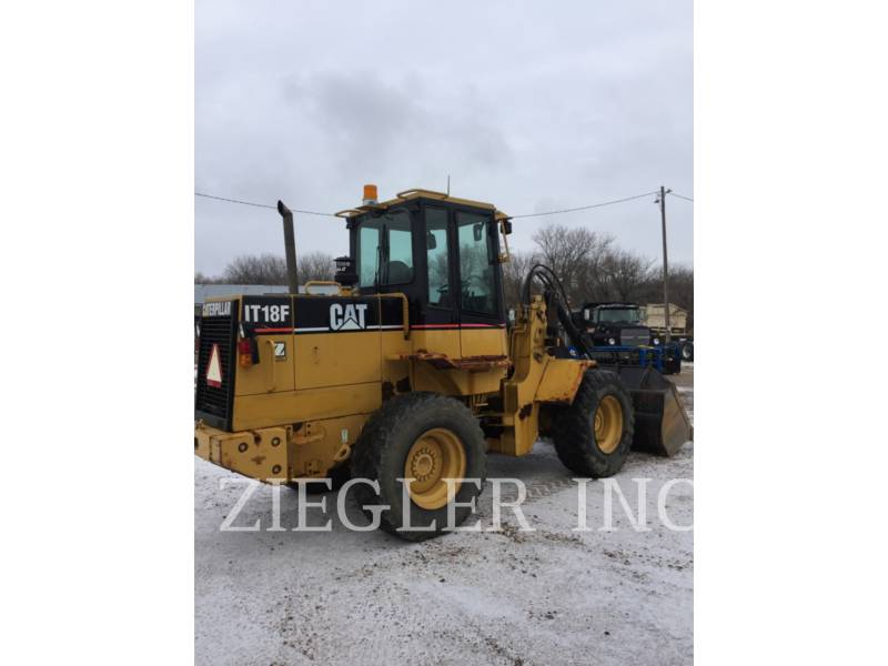 CATERPILLAR WHEEL LOADERS/INTEGRATED TOOLCARRIERS IT18F equipment  photo 2