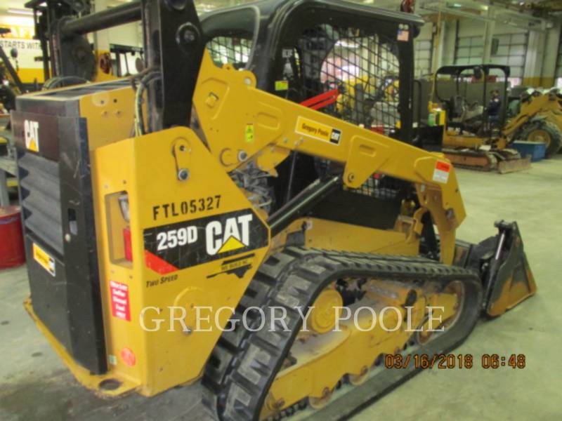 CATERPILLAR 多様地形対応ローダ 259D N equipment  photo 2