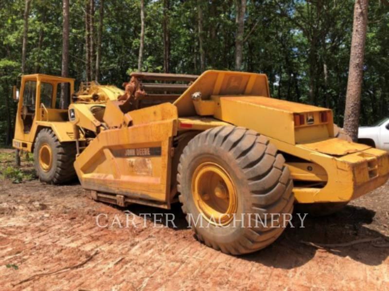 DEERE & CO. WHEEL TRACTOR SCRAPERS DER 762B equipment  photo 2