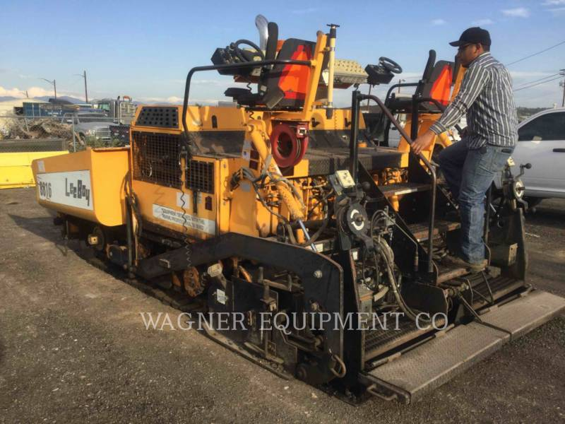 LEE-BOY FINISSEURS L8816 T equipment  photo 4