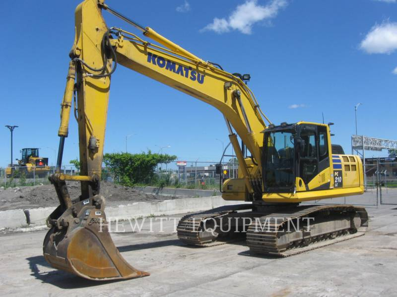 KOMATSU EXCAVADORAS DE CADENAS PC210 equipment  photo 1
