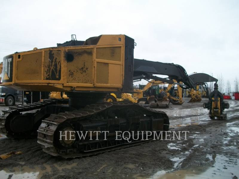 CATERPILLAR FORESTRY - FELLER BUNCHERS - TRACK 551 equipment  photo 2