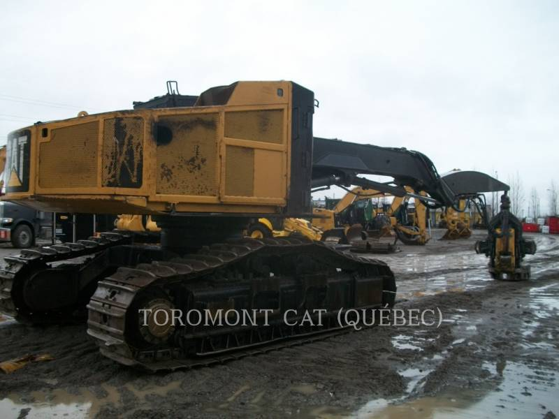 CATERPILLAR FORESTRY - FELLER BUNCHERS - TRACK 551 equipment  photo 2