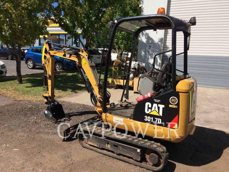 CATERPILLAR TRACK EXCAVATORS 301.7D equipment  photo 5