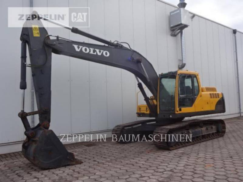 VOLVO CONSTRUCTION EQUIPMENT KETTEN-HYDRAULIKBAGGER EC210BLC equipment  photo 1