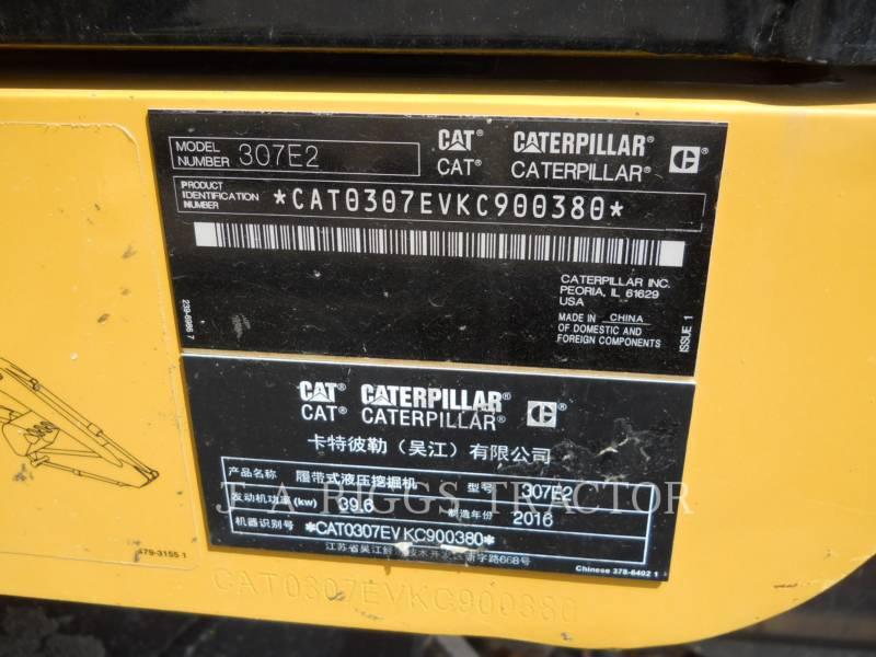 CATERPILLAR TRACK EXCAVATORS 307E equipment  photo 24