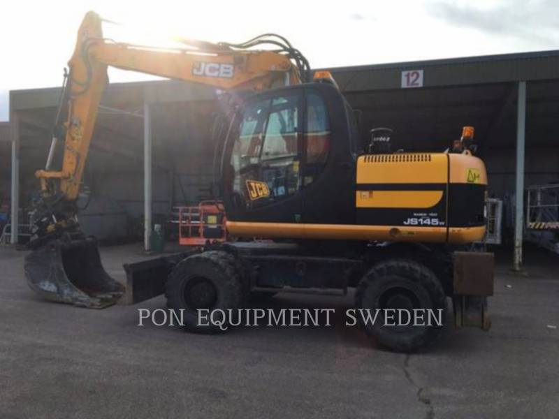 JCB PELLES SUR PNEUS JS145 W equipment  photo 4